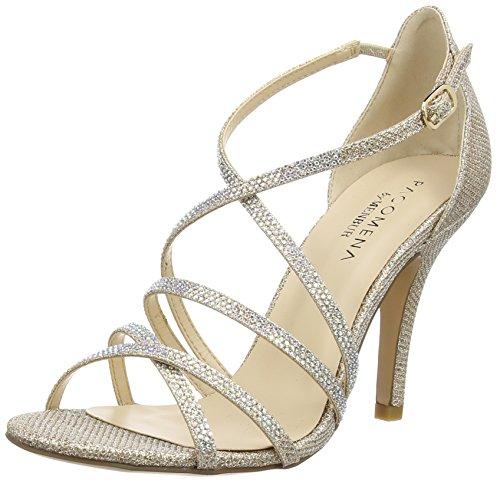 paco mena astrantia damen knoechelriemchen sandalen beige stone 38 eu - Paco Mena Astrantia, Damen Knöchelriemchen Sandalen, Beige (Stone), 38 EU
